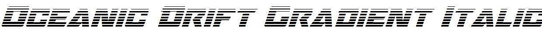 Oceanic-Drift-Gradient-Italic