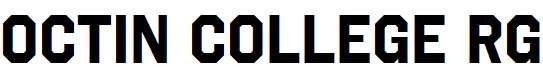 Octin-College-Rg-Bold