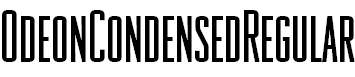 OdeonCondensedRegular