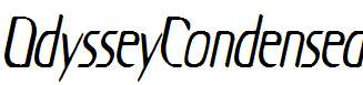 OdysseyCondensed-Oblique