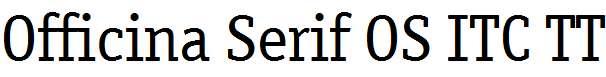 Officina-Serif-OS-ITC-TT-Book