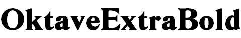 OktaveExtraBold