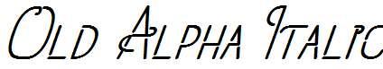 Old-Alpha-Italic-Regular