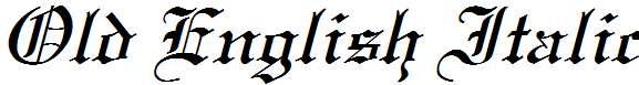 Old-English-Italic