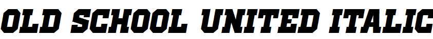 Old-School-United-Italic
