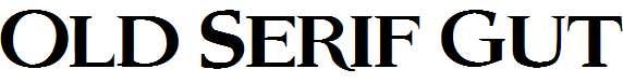 Old-Serif-Gut