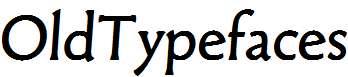 OldTypefaces