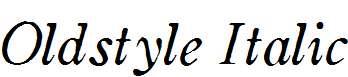 Oldstyle-Italic-HPLHS