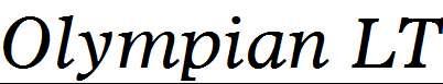 Olympian-LT-Italic