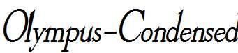 Olympus-Condensed-Bold-Italic