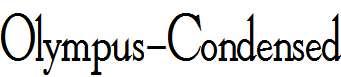 Olympus-Condensed-Bold