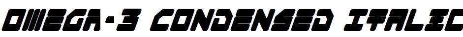 Omega-3-Condensed-Italic