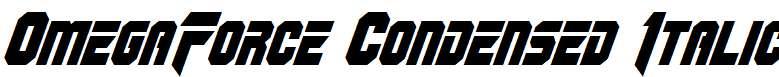 OmegaForce-Condensed-Italic-copy-1-