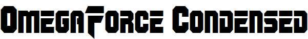 OmegaForce-Condensed
