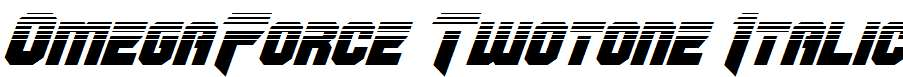 OmegaForce-Twotone-Italic