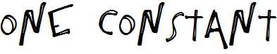One-Constant