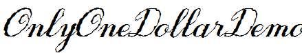 Only-One-Dollar-Demo-Italic