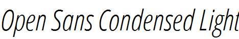 Open-Sans-Condensed-Light-Italic