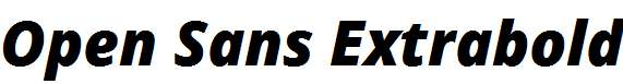 Open-Sans-Extrabold-Italic