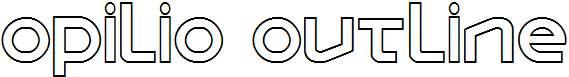 Opilio-Outline-Regular