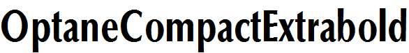 OptaneCompactExtrabold-Regular