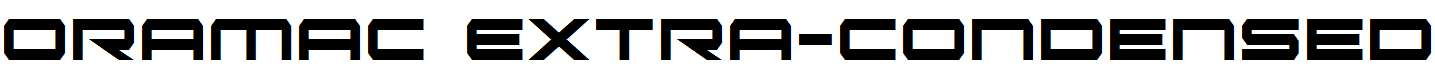 Oramac-Extra-Condensed