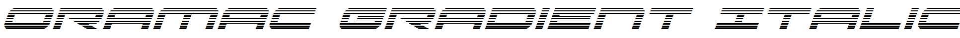 Oramac-Gradient-Italic