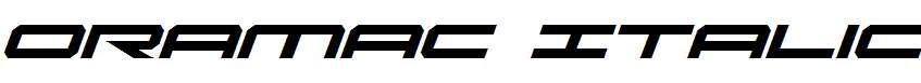 Oramac-Italic
