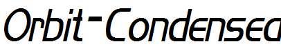 Orbit-Condensed-Italic