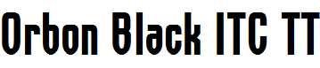 Orbon-Black-ITC-TT