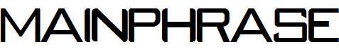 MAINPHRASE-Regular