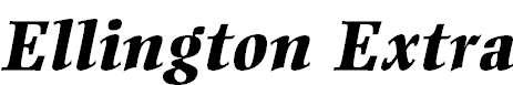 MEllington-ExtraBoldItalic