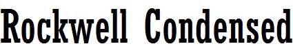 MRockwell-Condensed