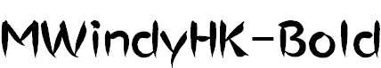 MWindyHK-Bold