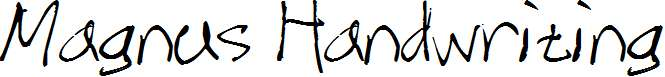 Magnus-Handwriting