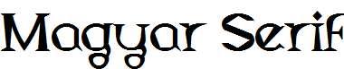 Magyar-Serif