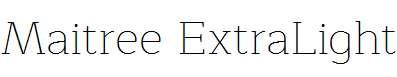 Maitree-ExtraLight