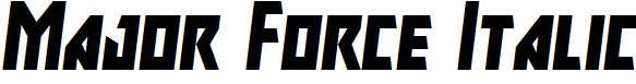 Major-Force-Italic