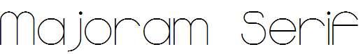 Majoram-Serif