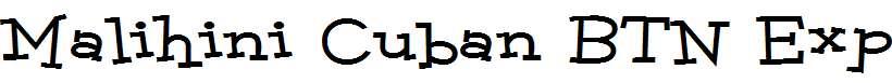 Malihini-Cuban-BTN-Exp-Bold