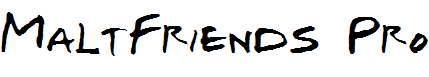 MaltFriends-Pro-Bold-Italic