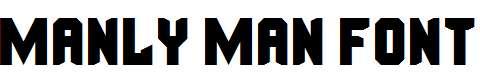 Manly-Man-Font-Regular