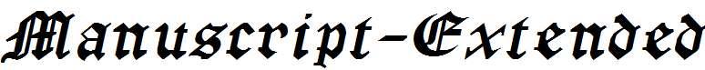Manuscript-Extended-Italic-1-