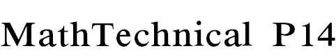 MathTechnicalP14