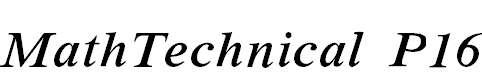MathTechnicalP16