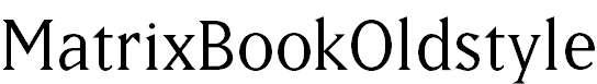 MatrixBookOldstyle