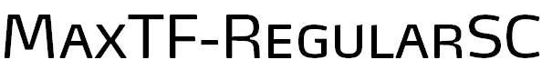 MaxTF-RegularSC
