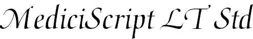 MediciScriptLTStd