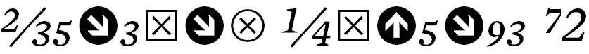 MercuryNumericG2-Italic