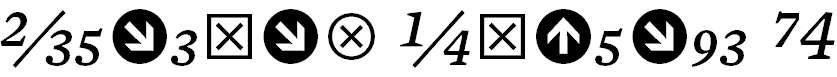 MercuryNumericG4-Italic